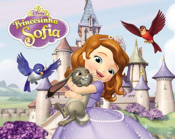 painel princesa sofia 300x200 número 05 liza eventos loja